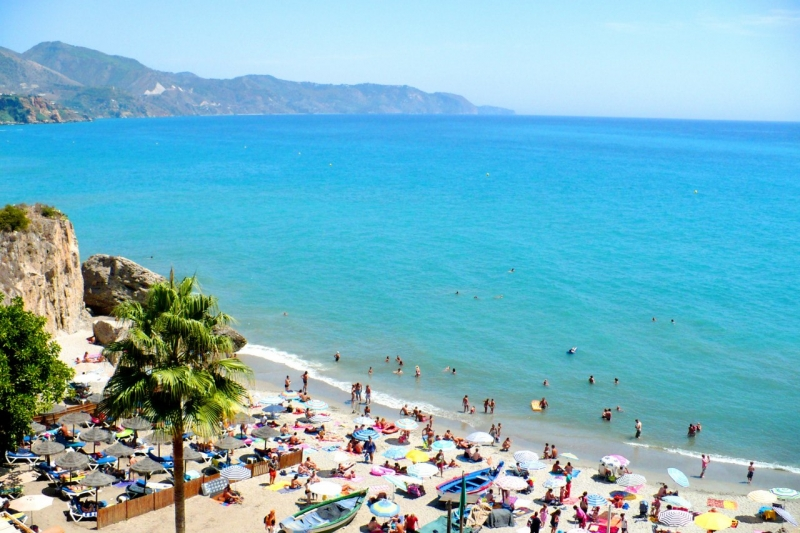 Испания барселона море