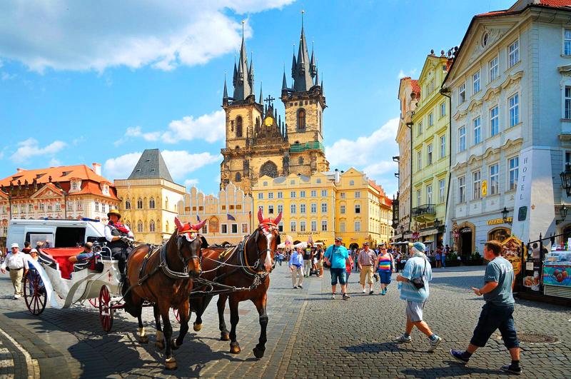 Прага экскурсии на русском